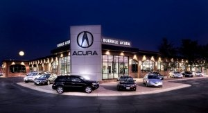 Buerkle Acura in the evening